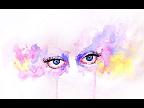 Watercolor Painting Tutorial Watercolor Painting Eyes