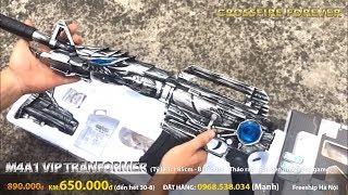 [CFVN] M4A1 VIP Tranformer súng VIP tối thượng đẹp nhất ngoài đời thật (Real Life)