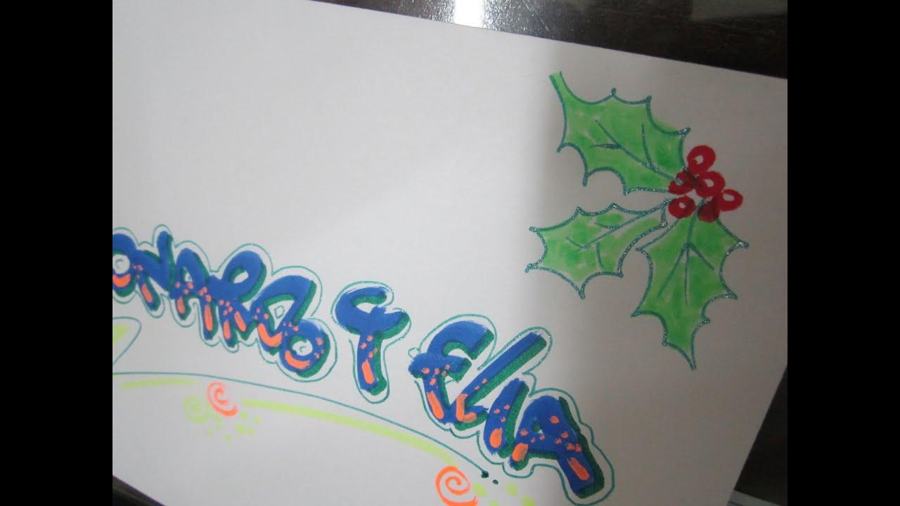 Como decorar un sobre de navidad youtube - Como decorar pinas para navidad ...
