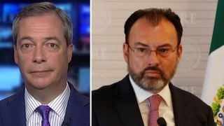Nigel Farage on tensions with Mexico over immigration policy