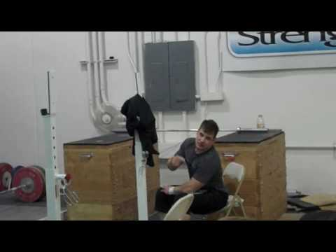 Donny Power Cleans 180kg like a toy! Image 1