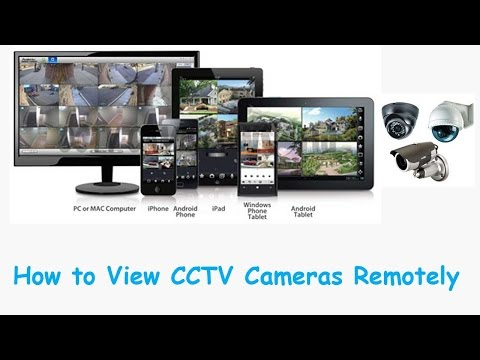 How to Connect DVR via Internet to Watch CCTV Cameras from a Remote Place