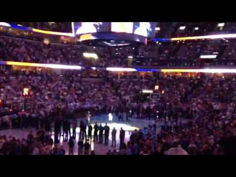 Memphis Grizzlies Anthem with Zach Myers