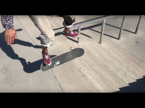 Stupid Trick Tips with Ryan Reyes: Kickflip Firecracker