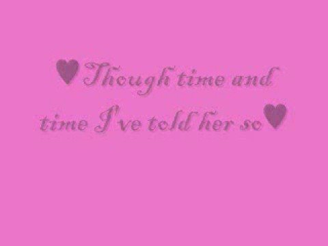She don't know she's beautiful - Sammy Kershaw (With lyrics)