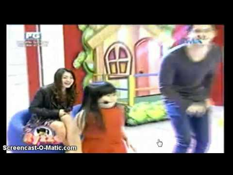 JaDine On The Ryzza Mae Show - Taktak Dance (08-06-2014)