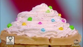 Whoopi Goldberg's Birthday Waffles | The View