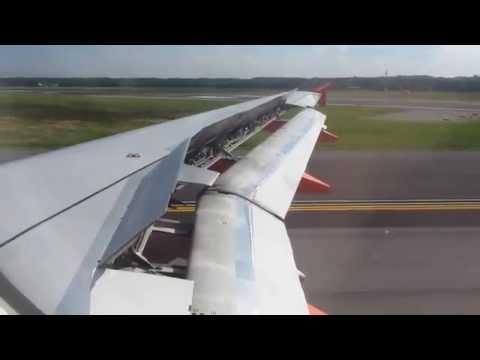 easyJet A319 Brussels(BRU) - Milan(MXP) Full Flight