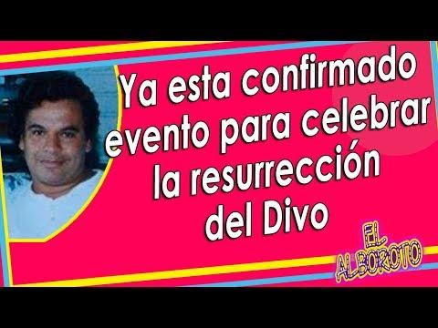 Organizan el evento para celebrar reaparición de Juan Gabriel