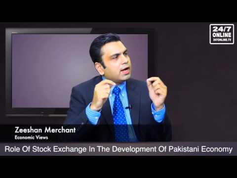 Economic Views - Role of stock exchange in Pakistan's economy