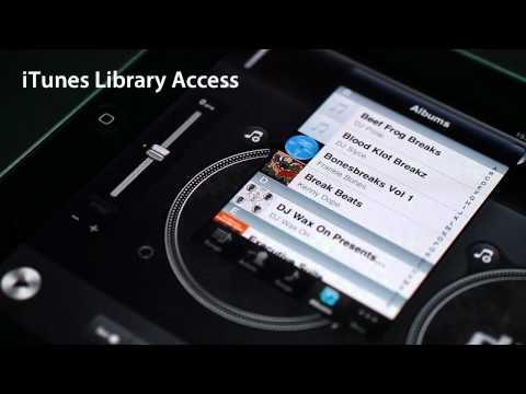 djay for iPad - Awesome iPad App turns iPad into DJ Mixer