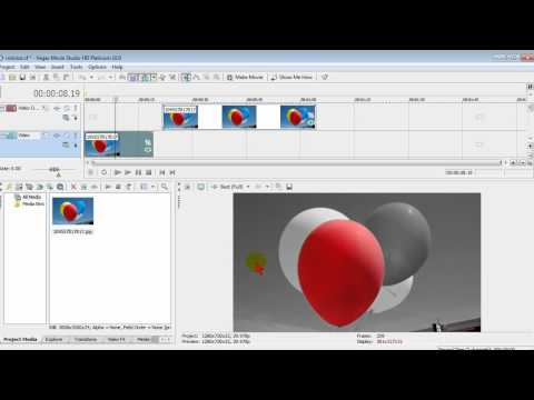 Colorize video in Sony Vegas Movie Studio - or black & white with one color