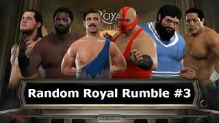 WWE 2K17 | Random Royal Rumble #3 - WWF NXT WCW ECW TNA ROH CZW PWG BJW NJPW Lucha Underground