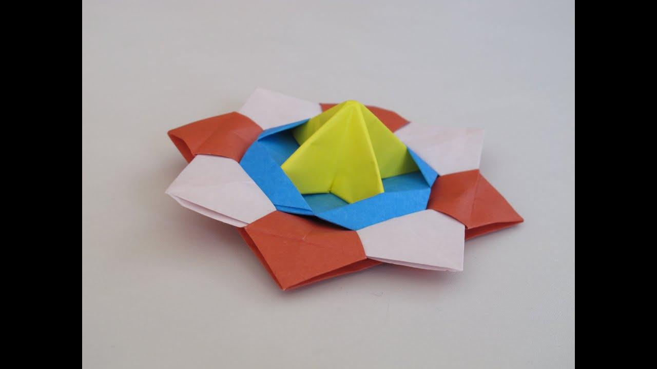 Инструкция как сделать спиннер из бумаги