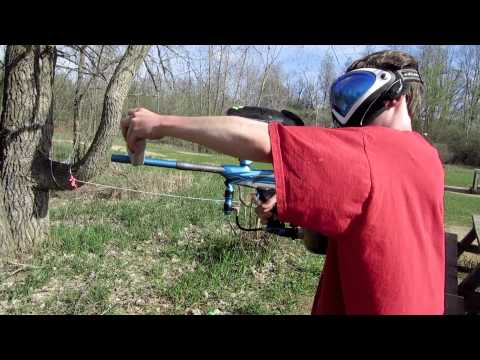 2013 Proto Reflex Rail Unboxing, Shooting, and Brittle Paint Test: Team Insanity