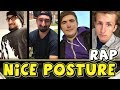 NICE POSTURE SQUAD RAP / SONG - (JeromeASF, AlexACE, Tewtiy, Frizzlenpop)