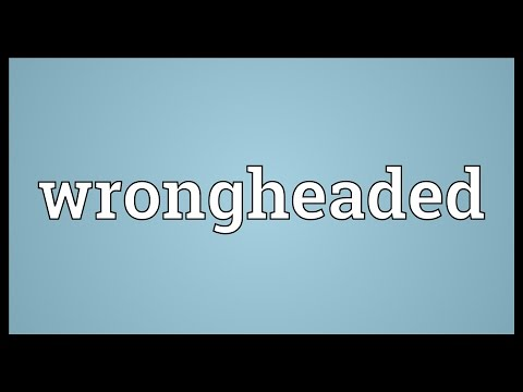 Header of wrongheaded
