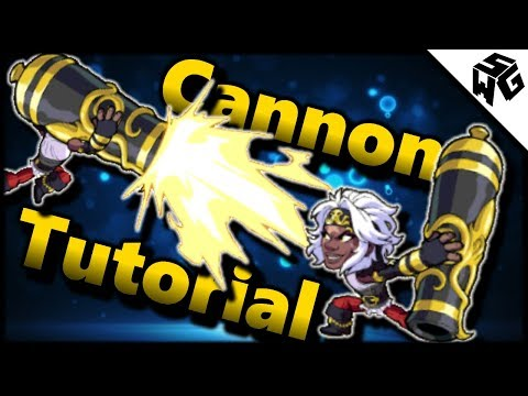 Brawlhalla Cannon Tutorial! Strings, Edge Guarding, and More!