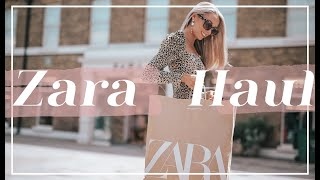 WHAT'S NEW IN ZARA // Summer - Autumn Transitional Haul // Fashion Mumblr