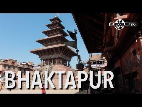 Bhaktapur Y El Templo De Los Animales Calenturientos - Nepal #4 video