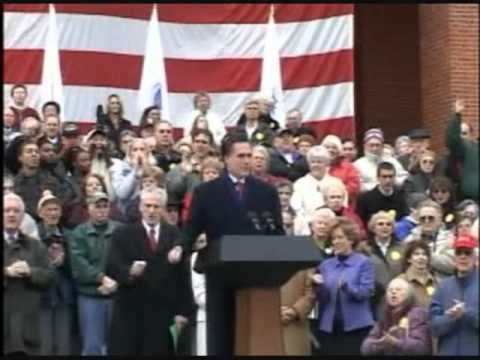 Romney's Stance on Gay Marriage - Man of Core Convictions (Extended Version)