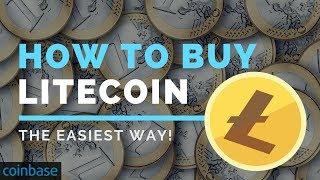 HOW TO BUY LITECOIN - The Easiest Way!