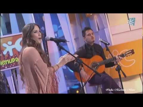 India Martinez - Menuda Noche, sorprender a Antonio