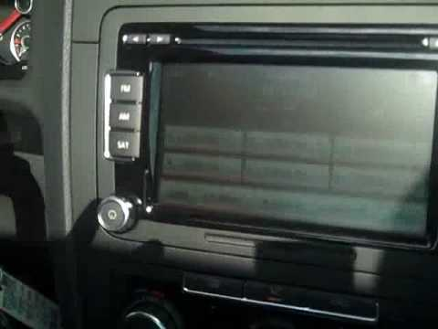 2010 Volkswagen Jetta SE with touchscreen stereo VW - YouTube