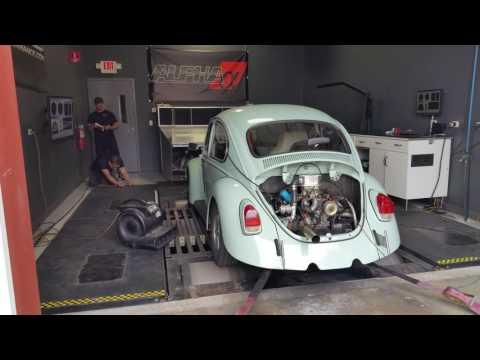 1969 VW Beetle Turbo - 8psi Dyno Pull 100WHP