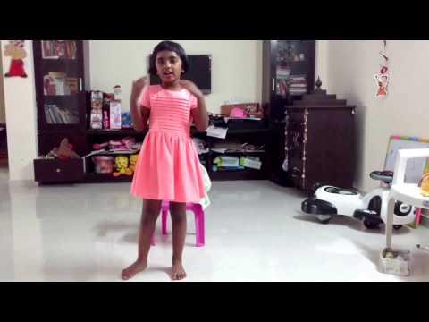 Moana : How far I'll go : Satvi singing thumbnail
