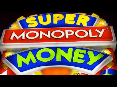 Super Monopoly Money Slot Machine Bonus BIG WIN MAX BET