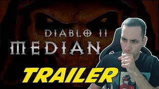 💢 MEDIAN XL TRAILER REACTION - DIABLO 2 💢