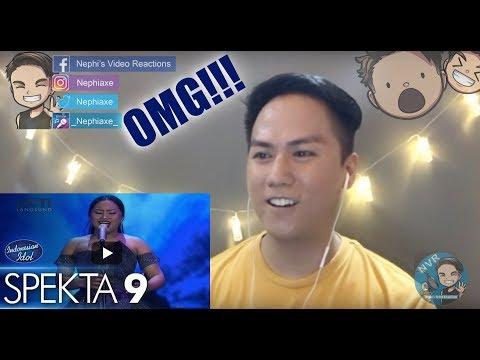 MARIA - NEVER ENOUGH Loren Allred   Spekta Show Top 7   Indonesian Idol 2018 | REACTION