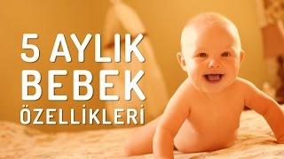 5 Aylık Bebek Özellikleri Nelerdir? ● www.bebek.tv