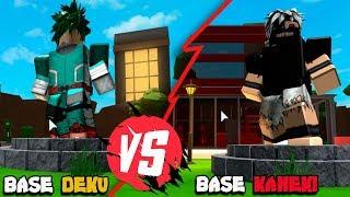 ELA ME DESAFIOU - BASE KANEKI vs BASE DEKU *Anime Tycoon*