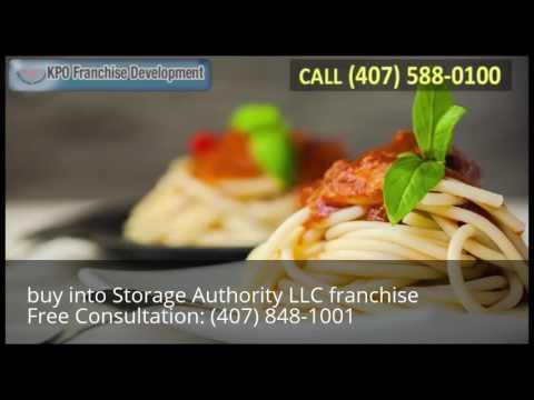 buy into Storage Authority LLC franchise