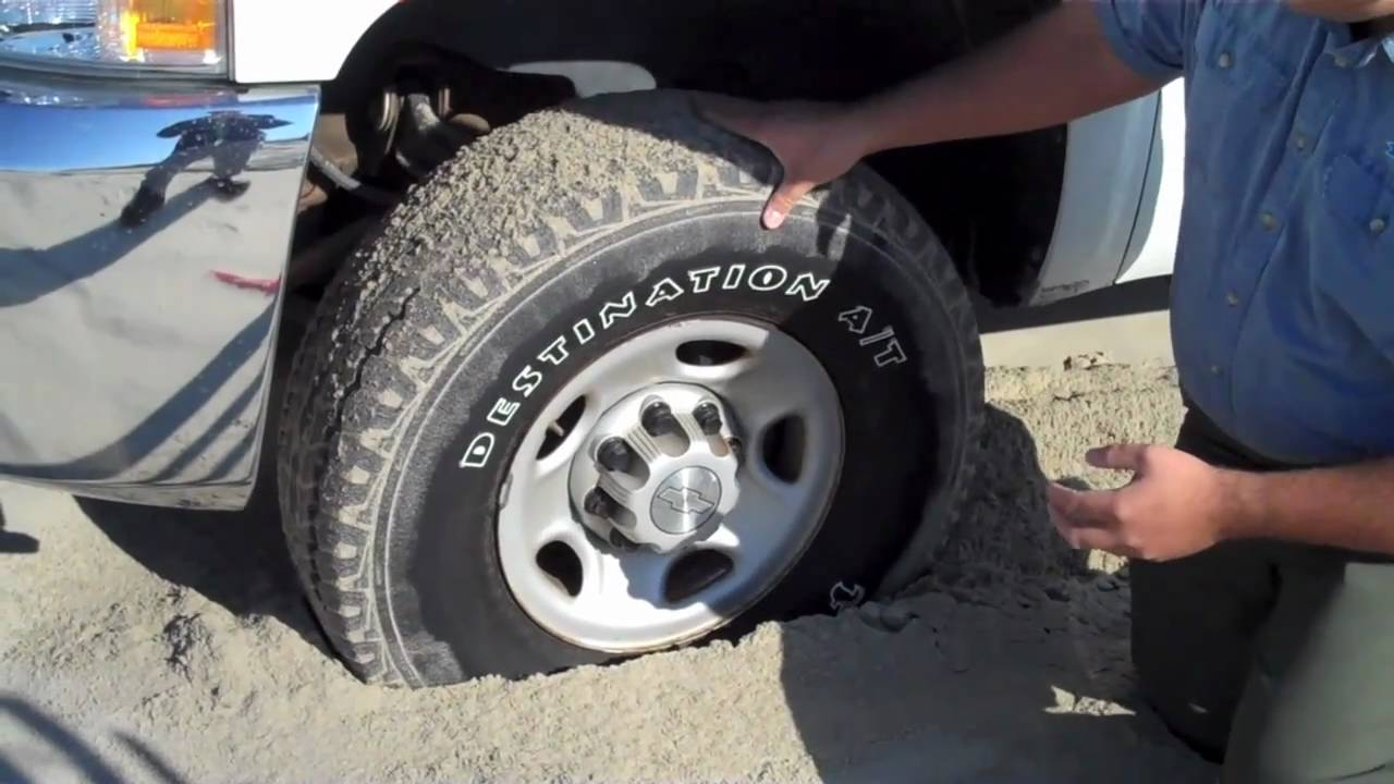 Why Do I Need To Lower My Tire Pressure Outer Banks 4x4