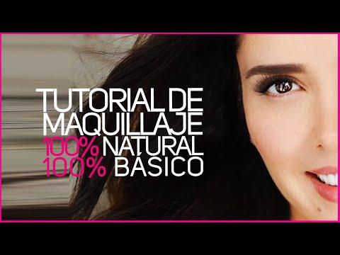 TUTORIAL DE MAQUILLAJE 100% NATURAL 100% BASICO Marlene Favela