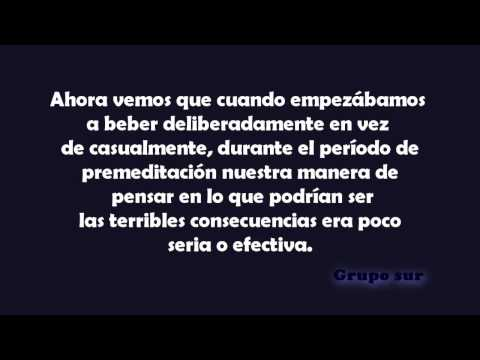 AA grupo sur LIBRO AZUL- Capitulo 3 MAS ACERCA DEL ALCOHOLISMO COMPLETO