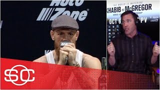 McGregor vs Khabib press conference was 'worst job I've ever seen Conor do' - Chael Sonnen | UFC 229