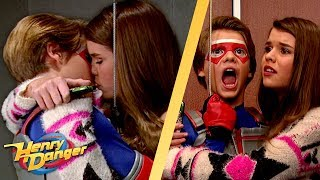 Kid Danger's Kisses Who In The Elevator?! 😘 | Henry Danger