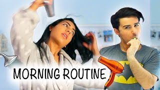 Morning Routine Guy Vs Girl!