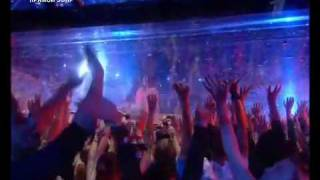 "Eurovision 2009 - FINAL- Water Show - ""Fuerza Bruta"""