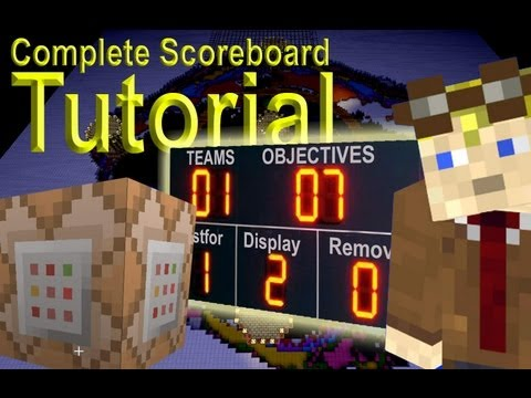 Minecraft scoreboard tutorial. Including testfor and teams.