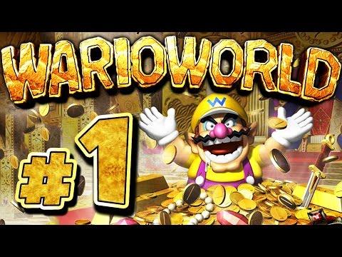 WARIO WORLD # 01 ★ Wario ist geldgeil! [HD60] Let's Play Wario World
