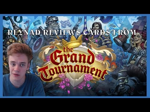 Reynad Reviews Grand Tournament Cards - Part 1 (Powered by G2A.com)