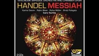 Handel Messiah, Chorus: Glory to God in the highest