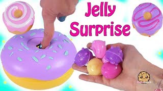 Jelly Surprise Donuts ! Pikmi Doughmis Blind Bag Plush Pets - Toy Video