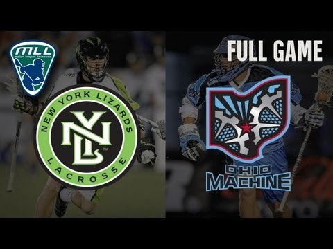 MLL's Youtube Game of the week: New York Lizards at Ohio Machine