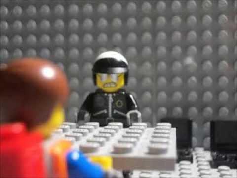 The LEGO Movie: Bad Cop Interrogates Emmet